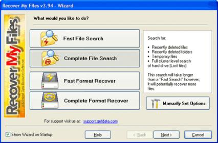 Glary Undelete - Powerful and Free Data Recovery Tool